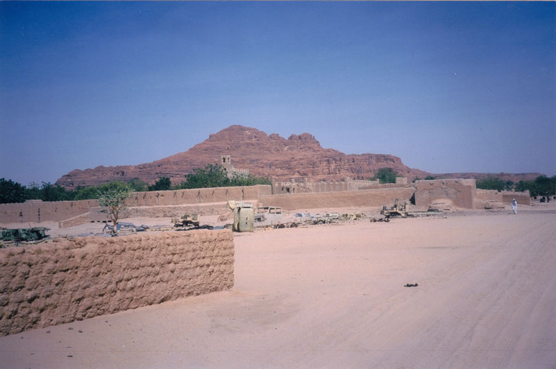 The mud fort at Fada, the capitol of the Ennedi Region.