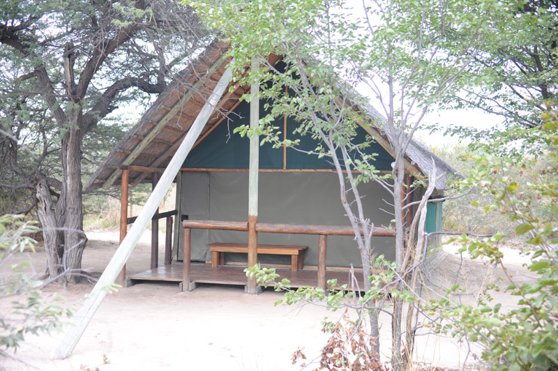 My accommodation in Matsumi Camp.